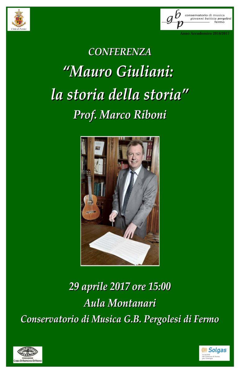 Locandina masterclass Marco Riboni - chitarrista