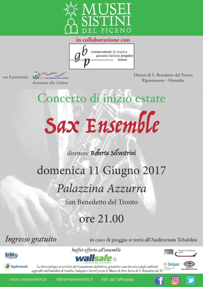 Concerto Sax Ensemble San Benedetto