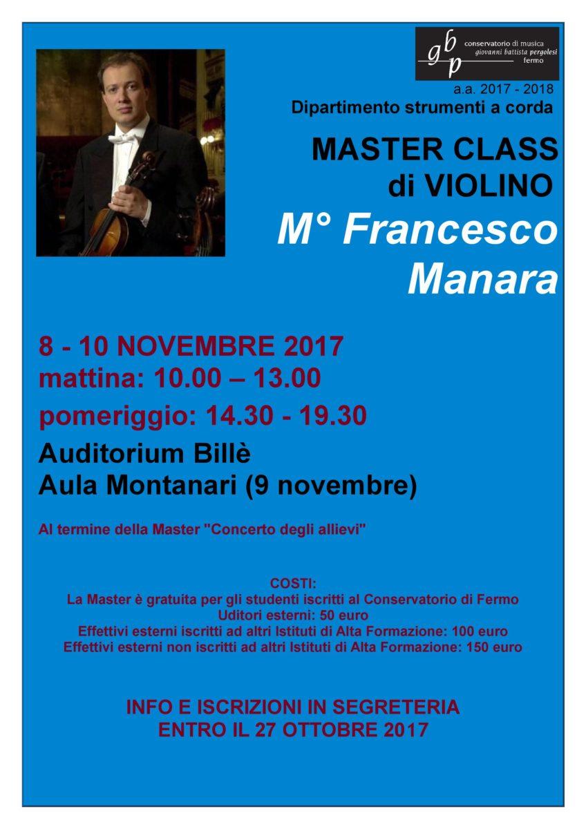 Locandina Master MANARA (FB)