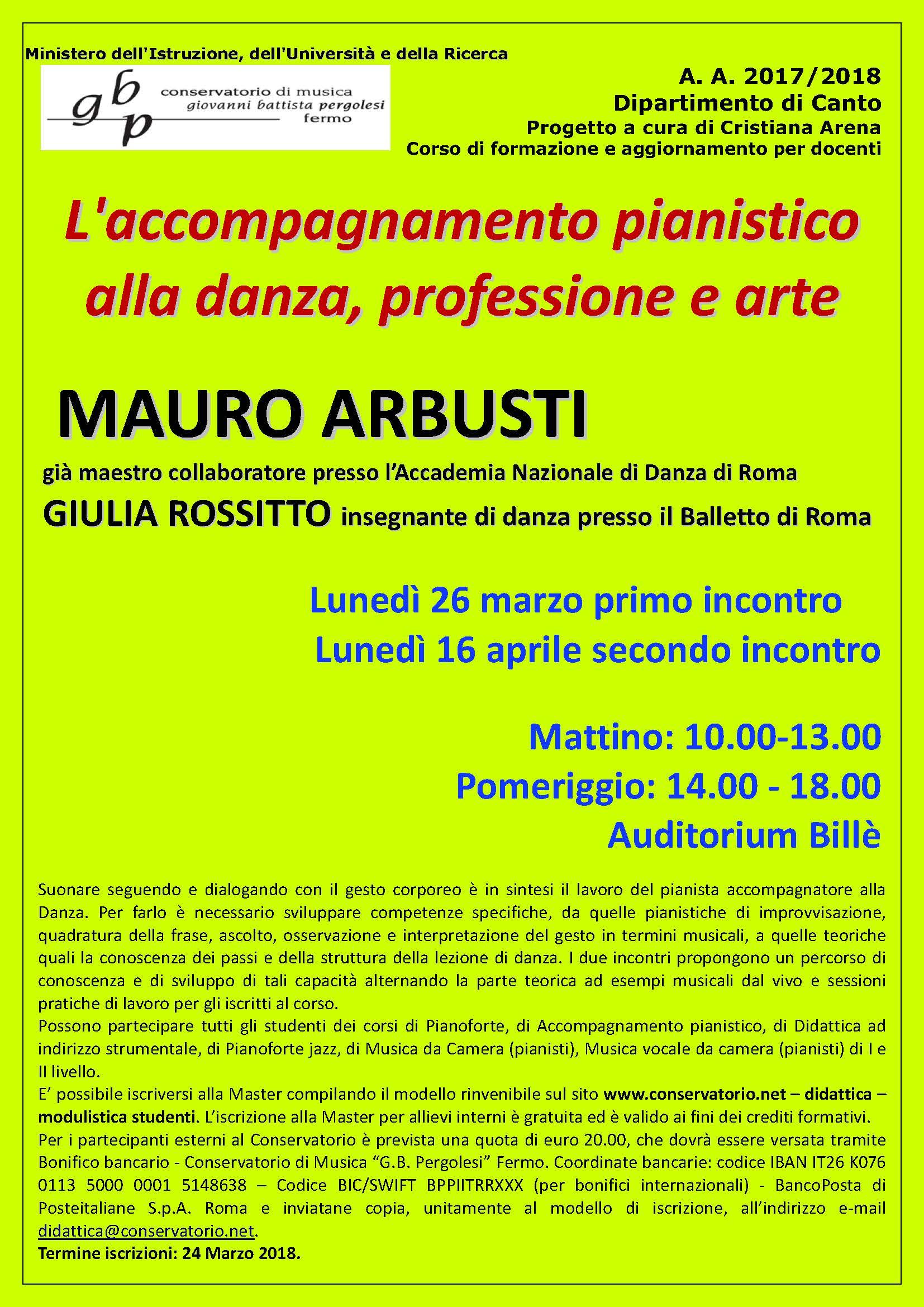 Locandina Seminario ARBUSTI - 2018
