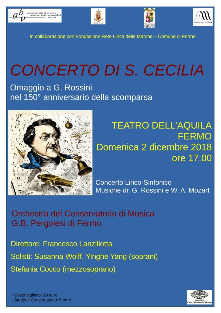 Locandina Concerto lirico 2 dicembre