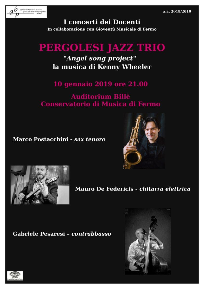 Concerto Trio jazz - 10 gennaio 2019