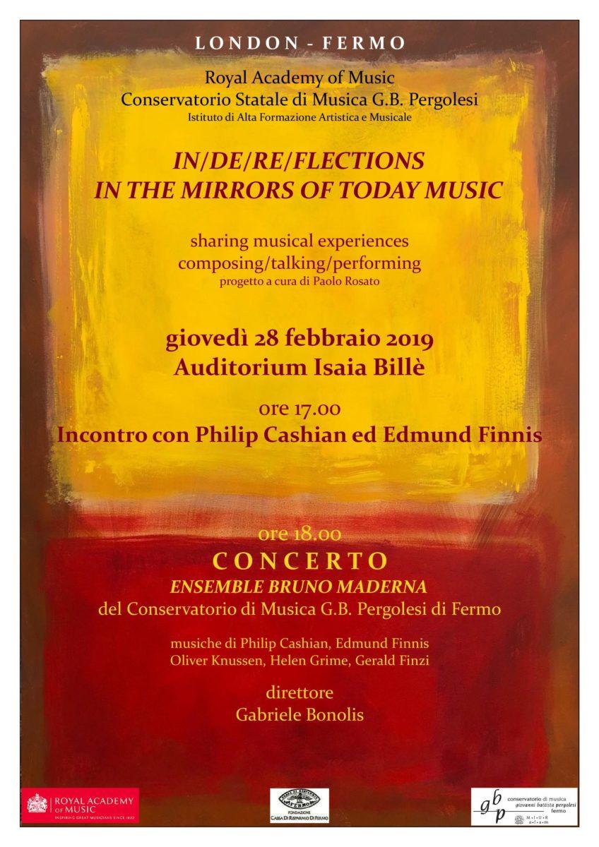 Locandina Concerto-seminario 28 febbraio 2019