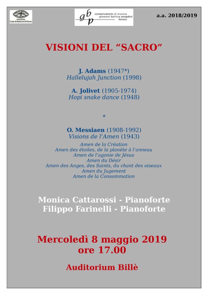 Concerto Duo Farinelli-Cattarossi- 8 maggio 2019
