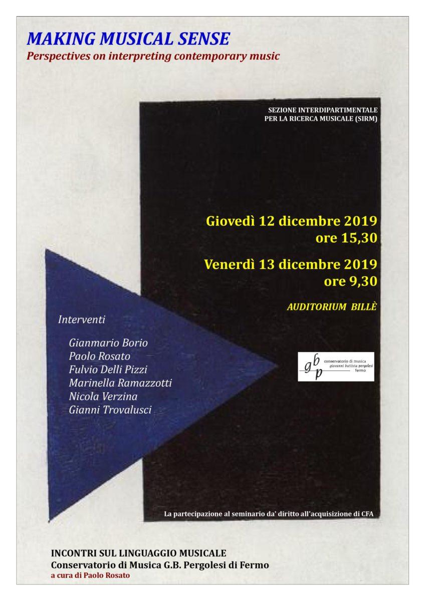 Locandina Convegno linguaggio musicale 2018-19 (nov. 19)