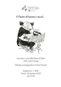 Il Flauto atTraverso i secoli locandina