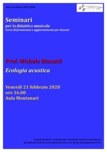 Locandina Seminario BIASUTTI 2019-20