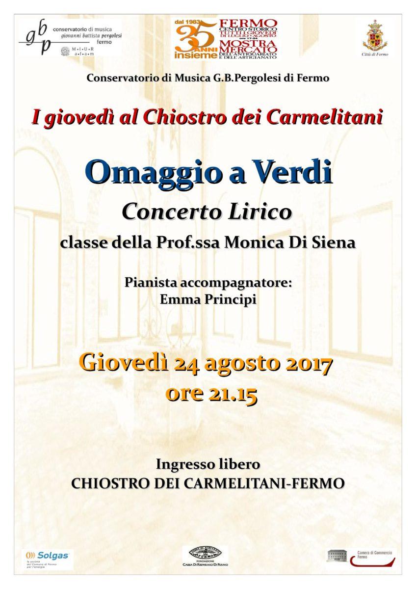 Locandina Concerto 24 agosto 2017