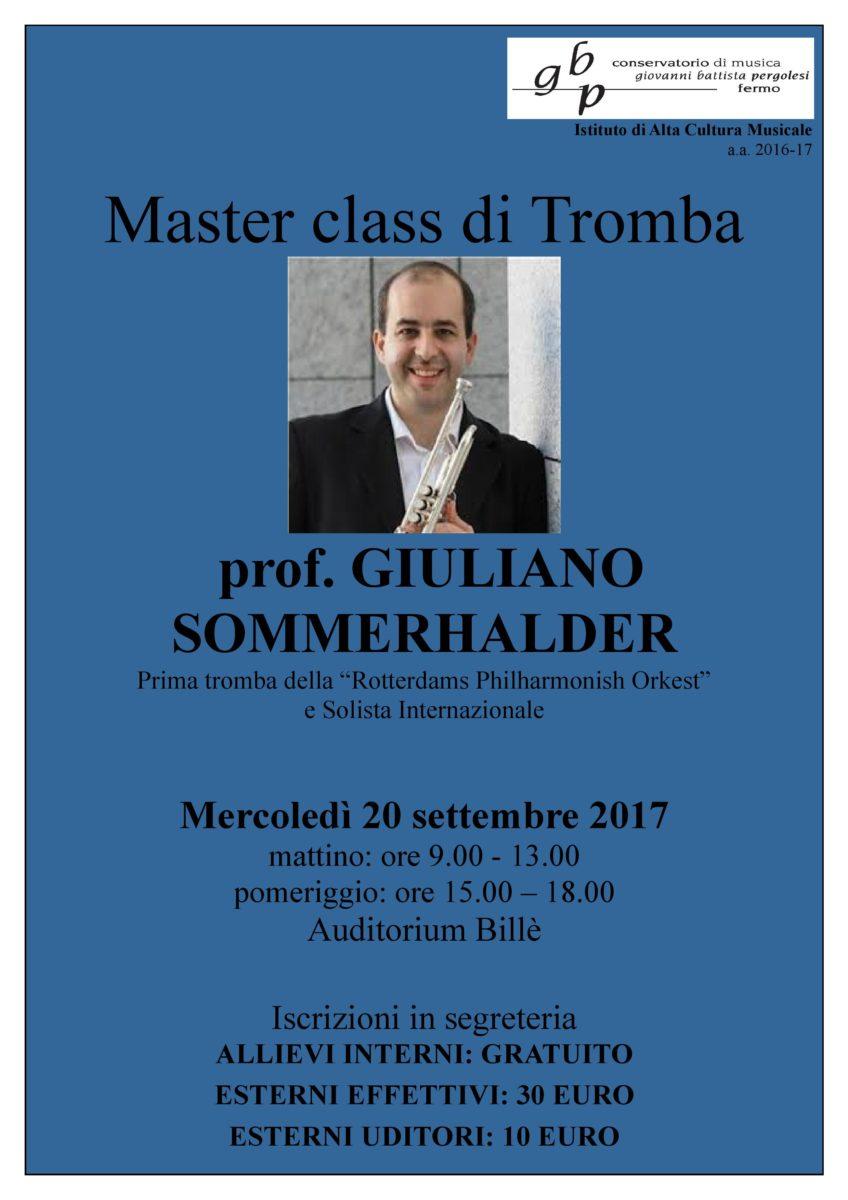 Locandina master Sommerhalden 2017