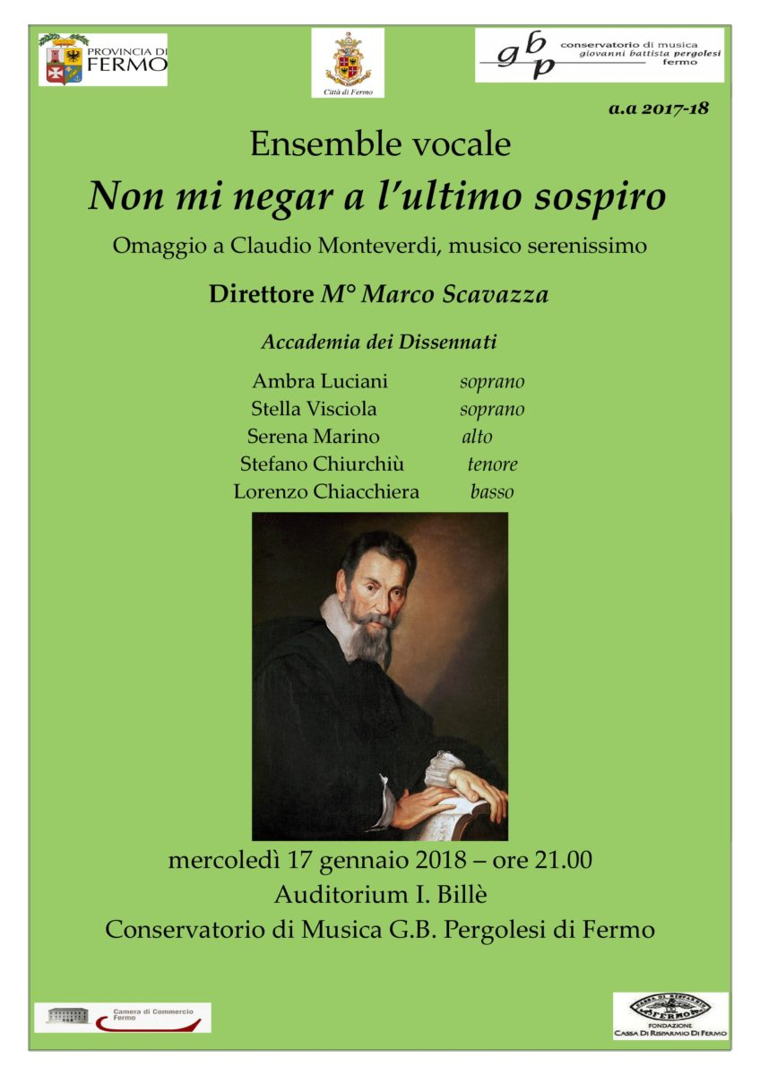 Locandina Concerti Monteverdi 19 marzo