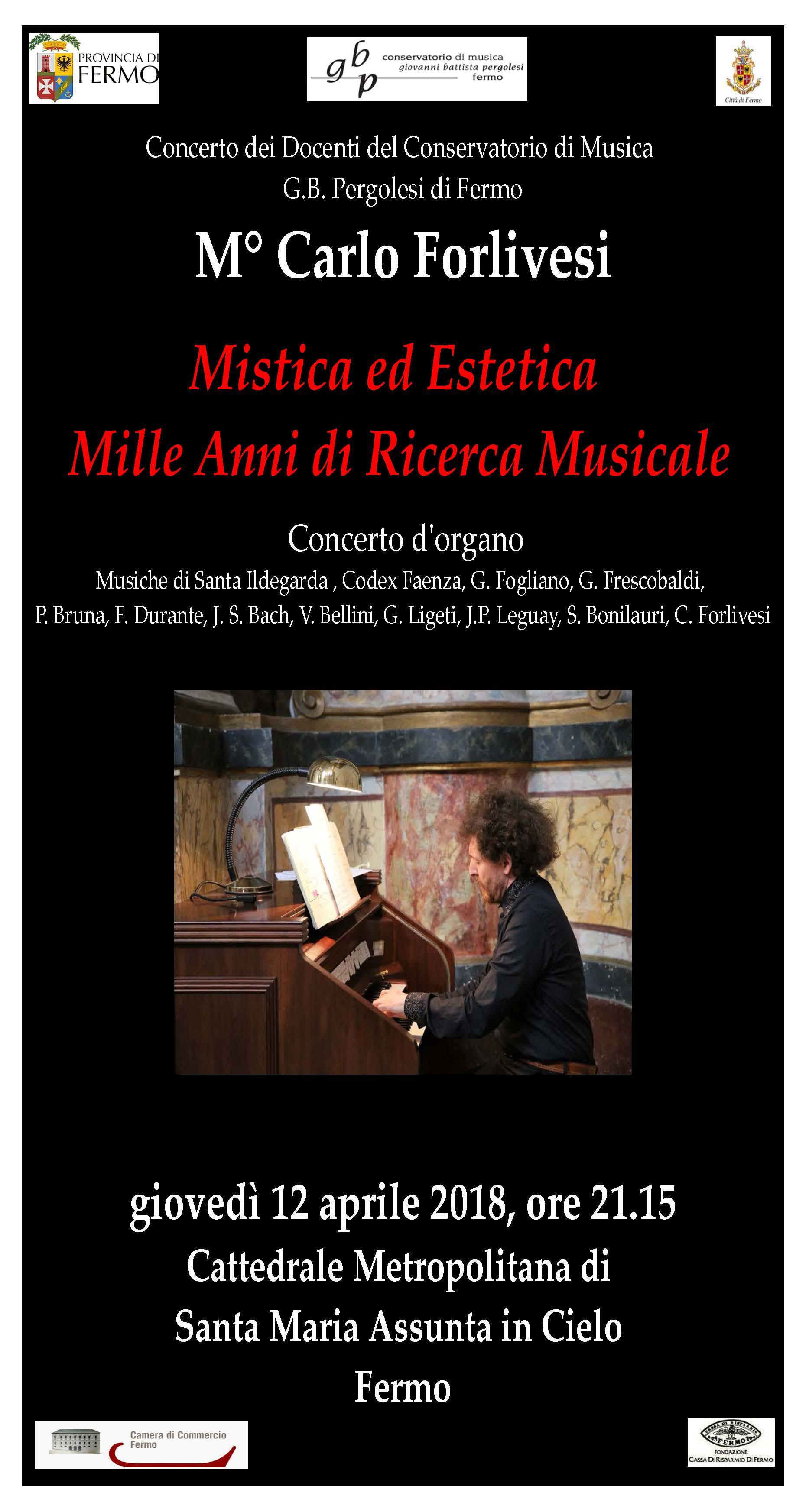Locandina Concerti docenti-Forlivesi