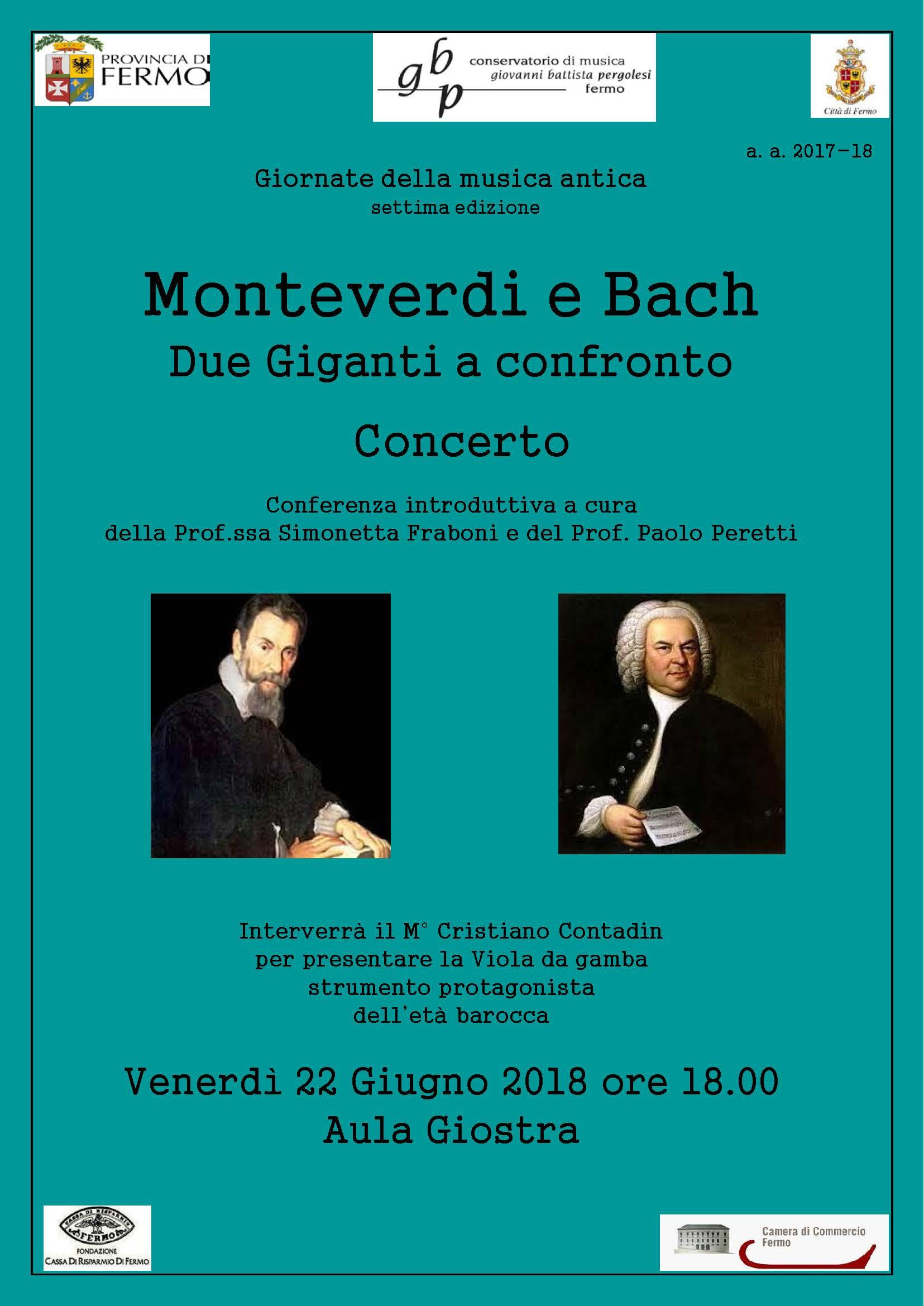 Locandina Monteverdi e Bach1