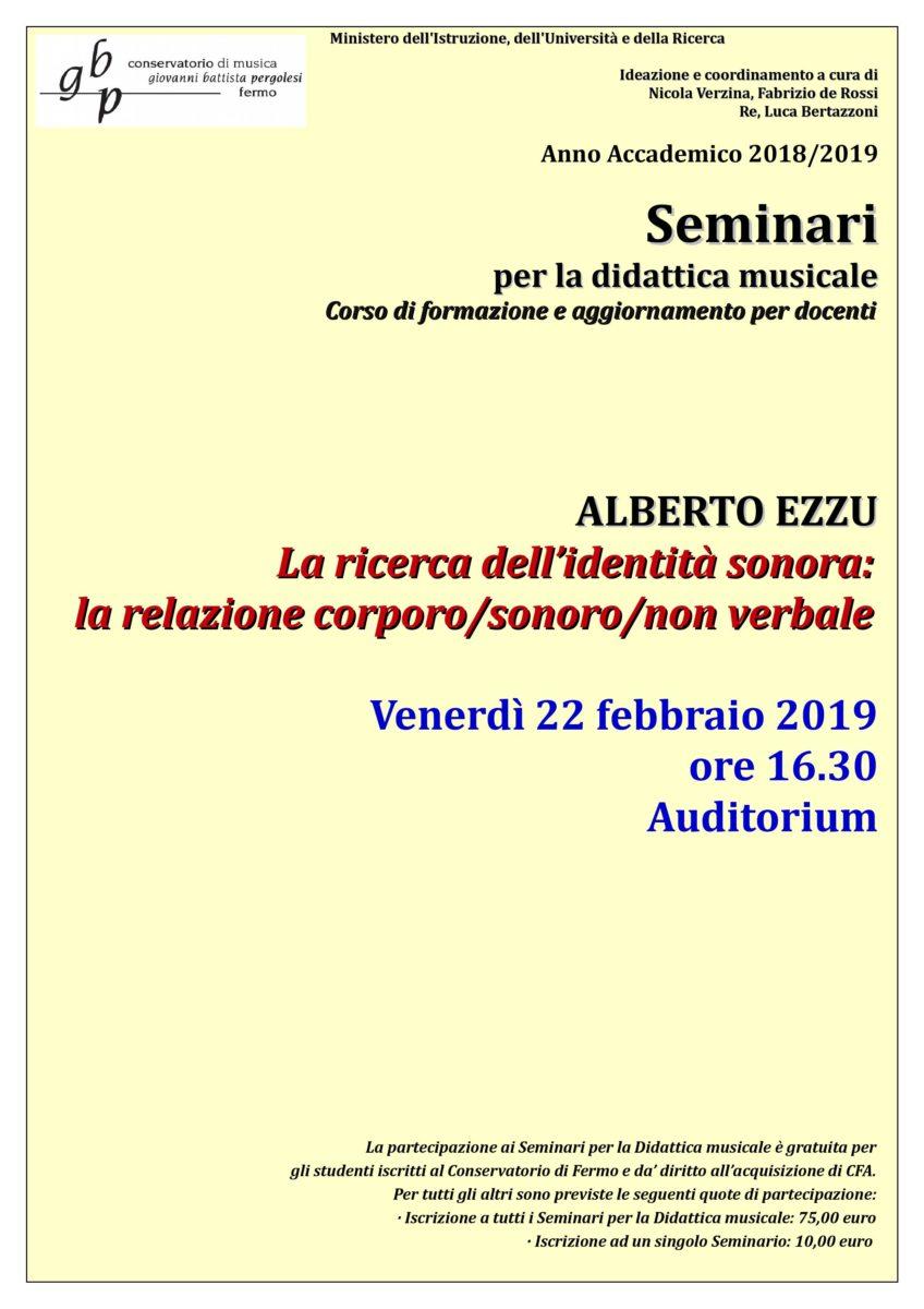 Locandina Seminario EZZU