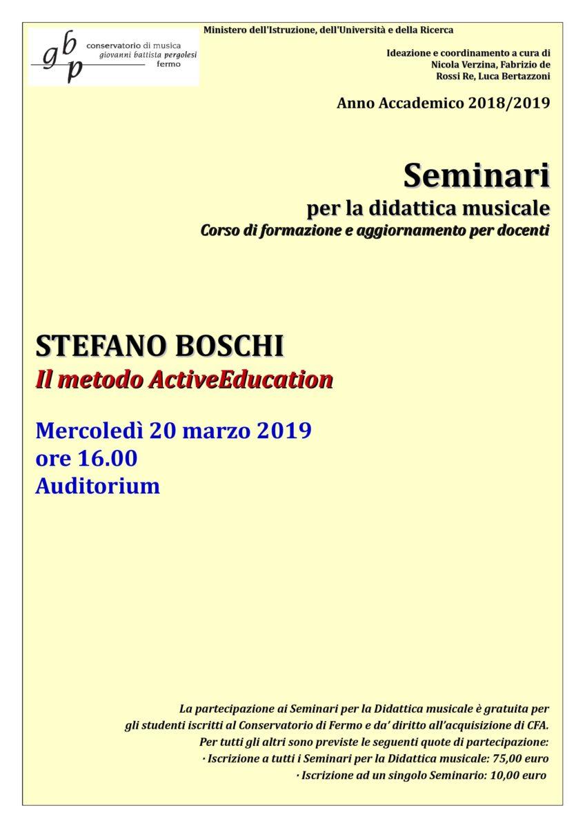 Locandina Seminario Boschi