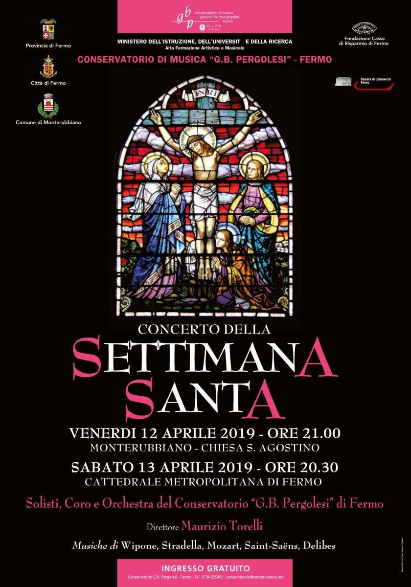 Manifesto Concerto Pasqua 2019