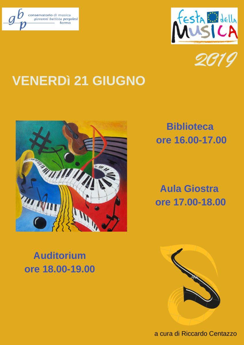 Locandina Festa della musica 2019