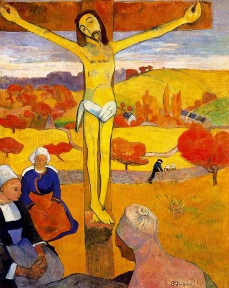 Gauguin, Cristo giallo