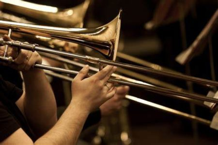 Trombone jazz