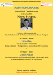 Locandina Master STROPPA